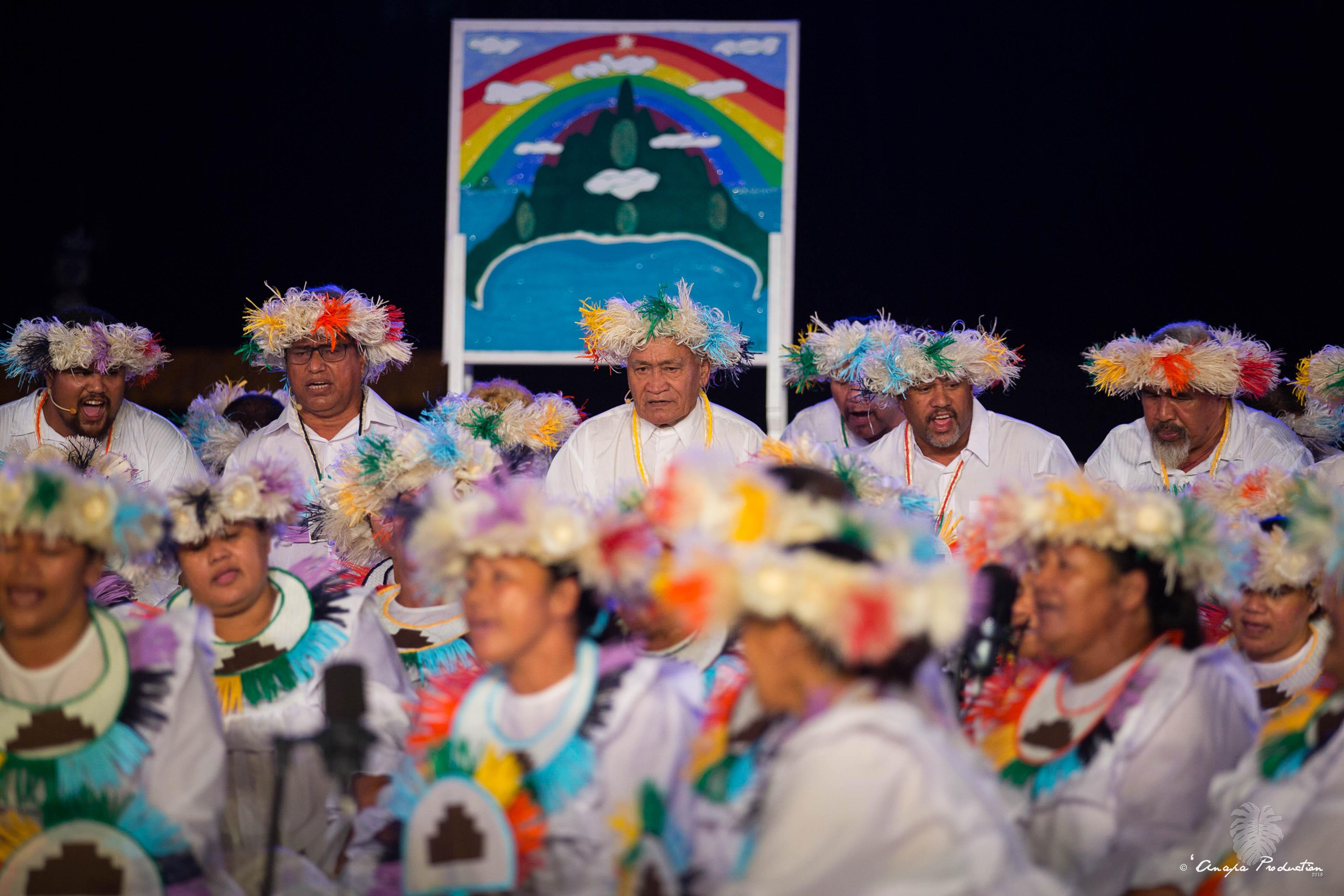 TĀRAVA TUHA'A PAE 2ème Prix – Tamari'i Rapa nō Tahiti - CP Anapa production